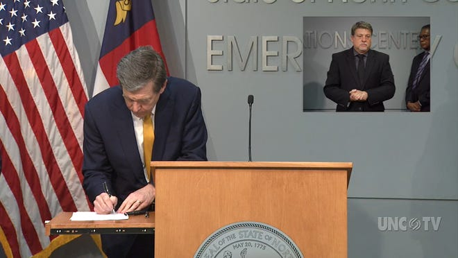 On May 4, Governor Roy Cooper signed $1.57 billion COVID-19 relief bills.