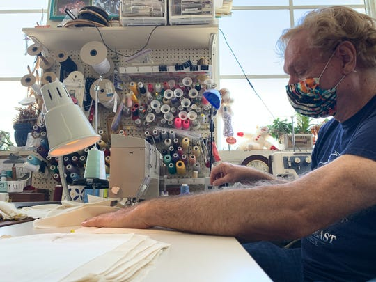 Dan Hill, the resident costume designer for The Historic Cocoa Village Playhouse, is a former nurse for the United States Navy who originally served on a dedicated AIDS unit for the VA.