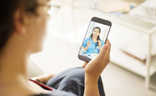 Manage health care at home with video doctor visits.
