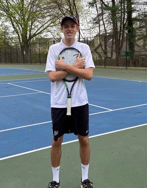 Haddonfield senior Will Oberholtzer would've been a four-year No. 1 for the tennis team this year had the spring season not been cancelled.