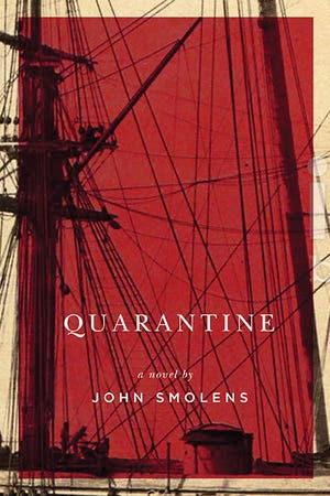 """Quarantine,"" a novel published in softcover in 2019 by Michigan State University Press, tells of an actual epidemic that struck Massachusetts in 1796, recounting parallels to the COVID-19 crisis. (Credit: MSU Press)"