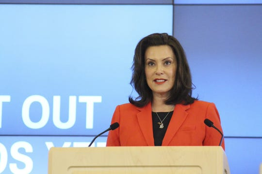 On May 4, Gov. Gretchen Whitmer provides an update on COVID-19 in Michigan.