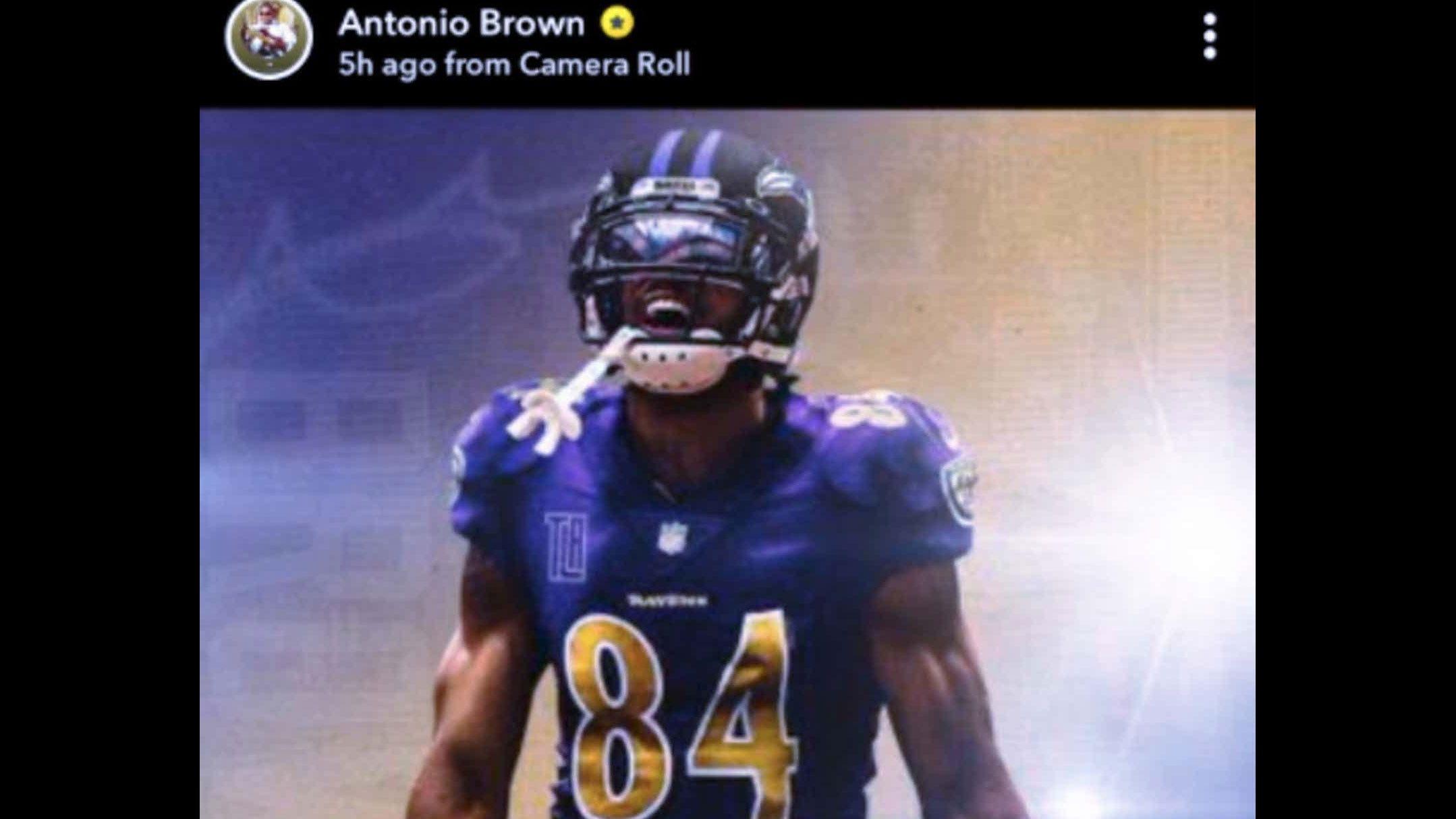 Sunday S Nfl Ex Chippewa Antonio Brown Shops Himself To Ravens