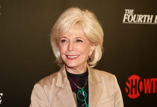 CBS correspondent Lesley Stahl said Sunday, May 3, 2020, that she's finally feeling well after a battle with COVID-19 that left her hospitalized for a week. (File photo by Andy Kropa/Invision/AP)