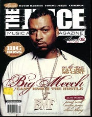"Black Mafia Family drug kingpin Demetrius ""Big Meech"" on the cover of The JUICE Magazine, which he co-owned."