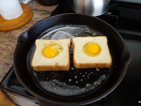 Eggs in the hole