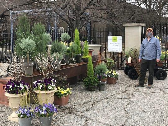 Detroit Garden Works has a curbside market.