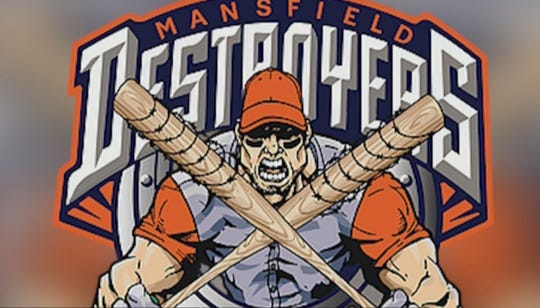 Mansfield Destroyers logo.