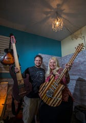 Doron and Sandra Markowitz are the owners of D Guitars and Lutherie music store in North Fort Myers. The shop offers a full-service repair and manufacturing shop.