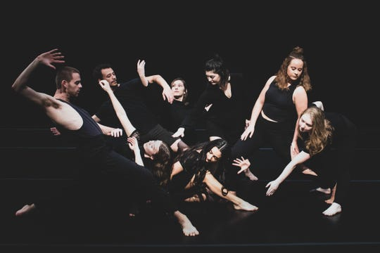 Senior BFA students from the University of Iowa Department of Dance.