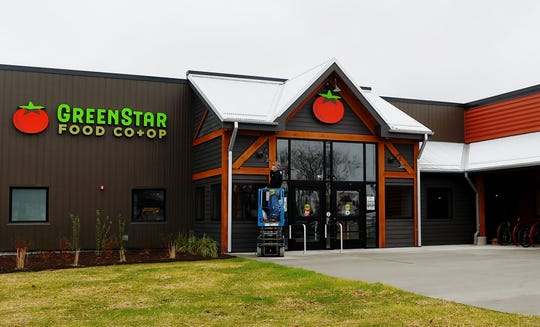 GreenStar Food Coop at 770 Cascadilla St. in Ithaca on Monday, May 4, 2020.