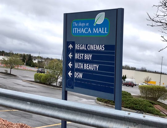 The Shops at Ithaca Mall.