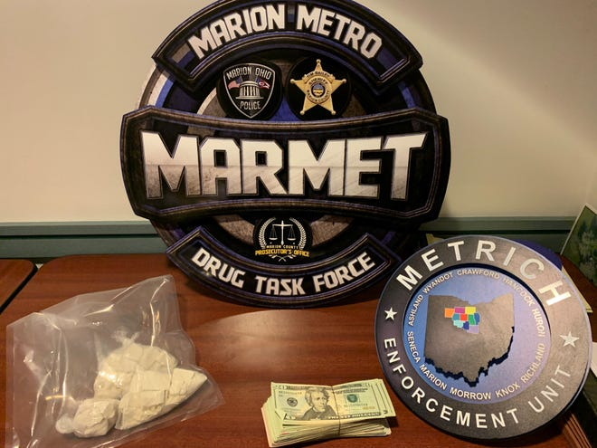 The MARMET Drug Task Force seized 430 grams of fentanyl, $10,000 in cash, and a firearm during a raid last week. It was one of the largest fentanyl busts in Marion County history, according to Marion Police Chief Bill Collins.