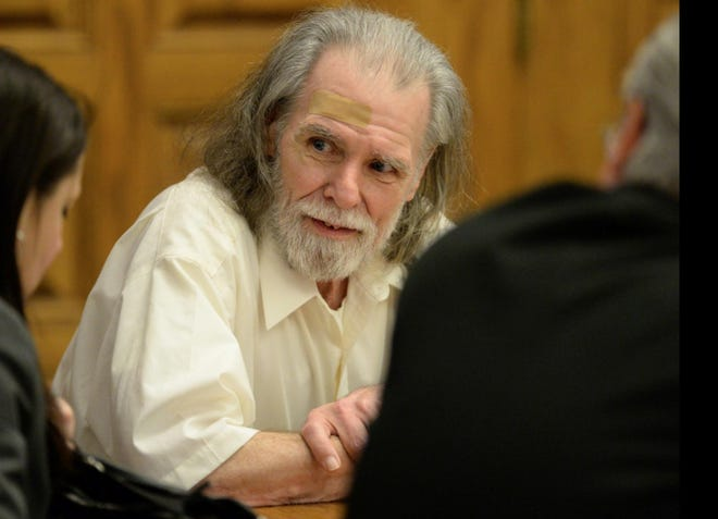 Kenneth Roth was convicted of killing Linda Van Voorhis Smith, of Osnaburg Township, in 2009. Roth appeared in Stark County Common Pleas Court on Feb. 6, 2017.