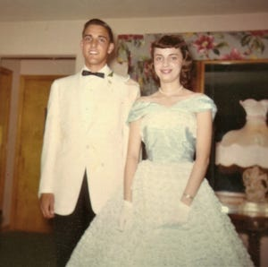 In 1959, Chuck and Marcia Stapleman, now Glendale residents, attended prom together in Joliet, Illinois.