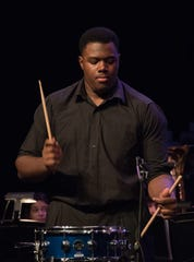 New Giants offensive lineman Andrew Thomas is musically-inclined. He plays the piano and drums, as seen here from his days in the Pace Academy band in high school.