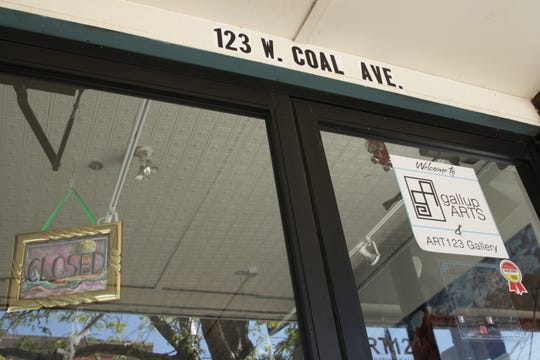 GallupARTS maintains the ART123 Gallery at 123 W. Coal Ave. in Gallup. The gallery is closed as part of state public health orders to address the coronavirus.