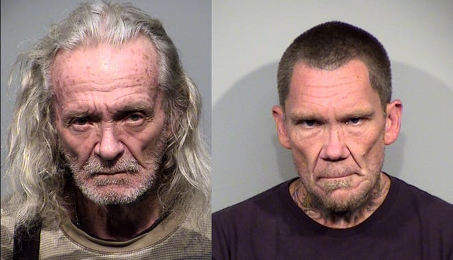 Deputies are looking for 67-year-old Bruce Moore from Humboldt and 49-year-old Dwight Elia from Dewey.