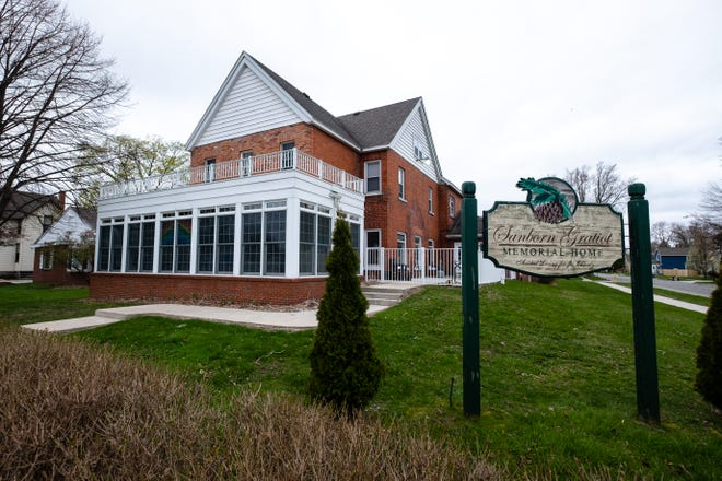 This year, instead of an annual luncheon, Sanborn Gratiot Memorial Home is holding their fundraiser online. Funds raised go to support seniors who are low or very low income.