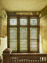 Photographer Pieter Estersohn captured a stained glass window at Wilderstein, one of the architectural treasures in the Hudson River Valley.