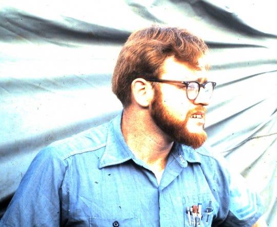 Jim O'Keefe's red beard.