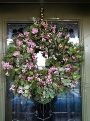 Dawson Wreath Barn in Weed sells handmade seasonal wreaths, including its spring woodland wreath (pictured). Its stock is made from plants gathered in Siskiyou County.