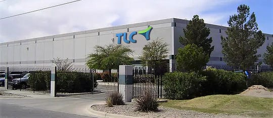 Iowa-based TLC Associates plans to open by June its second El Paso call center in this building at 10365 Railroad Drive in Northeast El Paso.