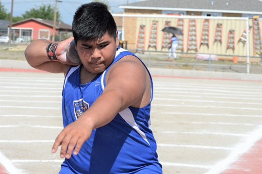 Nicholas Tangonan is a senior on the Exeter High School track and field team.