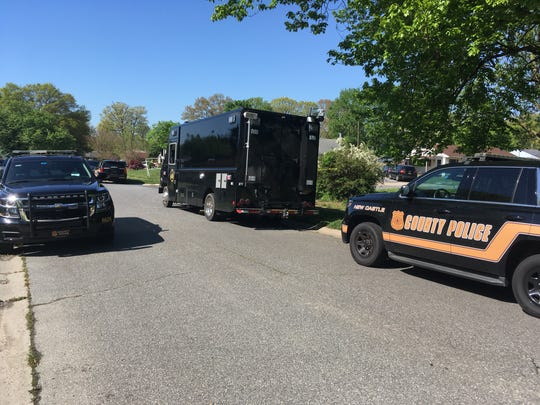 """A""""suspicious device"""" found in an Ogletown neighborhood Monday morning that garnered a response fromNew Castle County Police's bomb squadturned out to be nothing more than a model rocket engine, police said."""