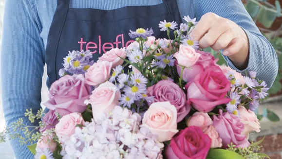 Teleflora offers deals on select bouquets.