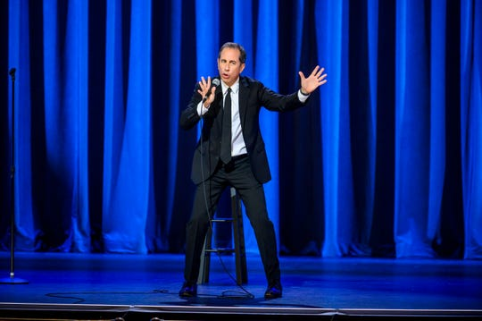 "Jerry Seinfeld, 66, in Netflix comedy special ""23 Hours to Kill,"" streaming Tuesday."