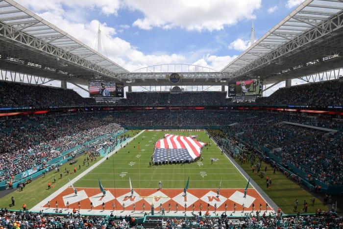 Miami Dolphins unveil plan to host fans in stadium amid coronavirus pandemic