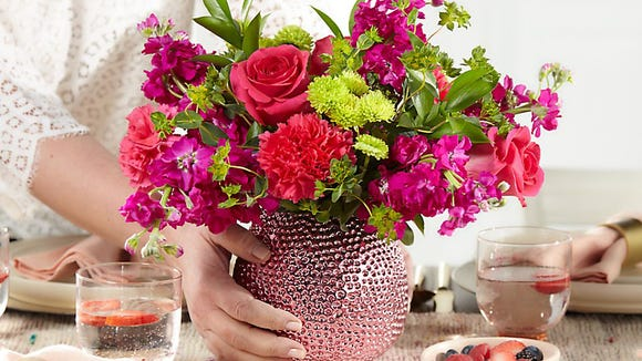 FTD Flowers has a huge network of local florists.