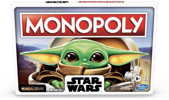 "Baby Yoda is the star of his own ""Star Wars"" Monopoly game."