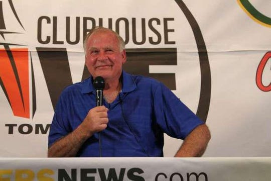 Green Bay Packers legend Jerry Kramer appears on the Sept. 10, 2012, episode of Clubhouse Live. The show was held at The Clubhouse Sports Pub & Grill in downtown Appleton.