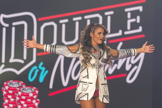Dr. Britt Baker, DMD, is one of the rising stars of All Elite Wrestling.