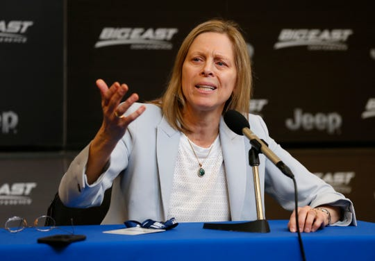 Big East commissioner Val Ackerman is co-chair of the NCAA's working group on name, image and likeness legislation.