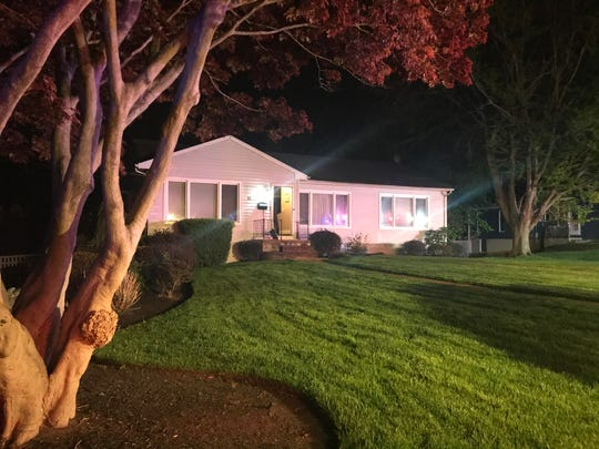 Residents safely evacuated this home at 12 Roma Court in the Lincroft section of Middletown on May 4, 2020 after being awakened by a smoke alarm.