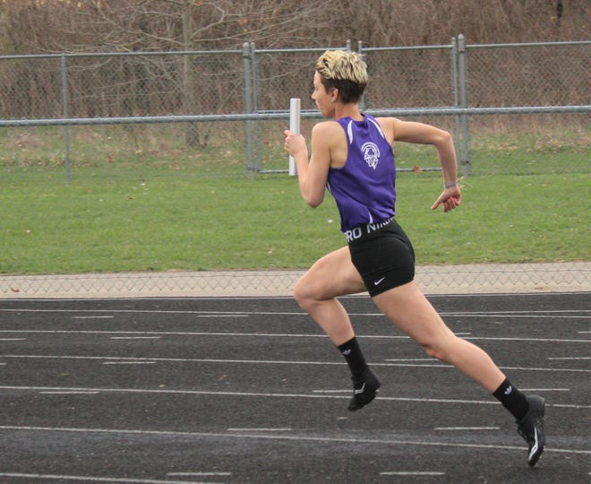 Lakeview senior Taylor Wilsey has been a standout on the Spartan track team her entire high school career.