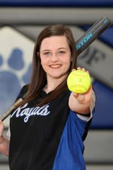 Paige Rex had a breakout season as a junior batting over .500 for decent bit of the year.