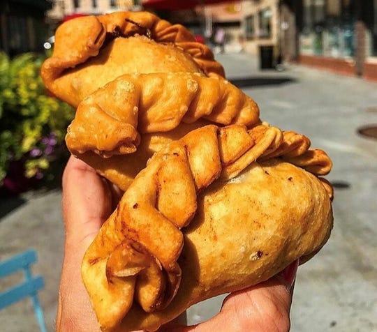 Empanadas from Division Cafe.