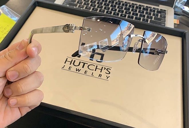 White Cartier Buffs from Hutch's Jewelry Gmac Cash plans to gift to Gov. Whitmer.