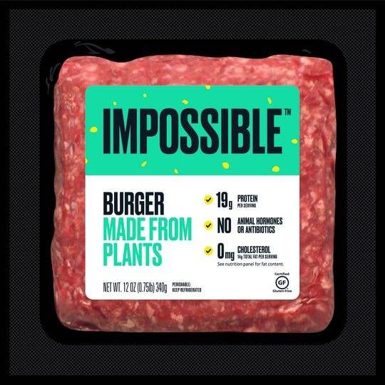 Impossible brand of faux meat is now available at Kroger stores.