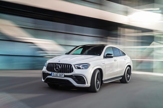"""The Mercedes-AMG GLE Coupe already offers """"energizing comfort"""" settings that run through light mindfulness exercises to help promote circulation, breathing and inner calm."""