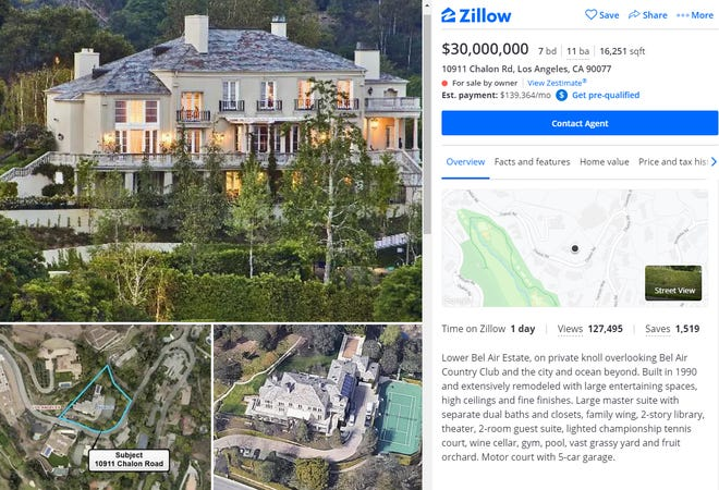 Elon Musk Puts Two Homes On Market After Vow To Sell Most Possessions