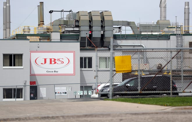 JBS Packerland beef plant in Green Bay reopened on May 5, 2020 after briefly closing due to a coronavirus outbreak amongst employees.