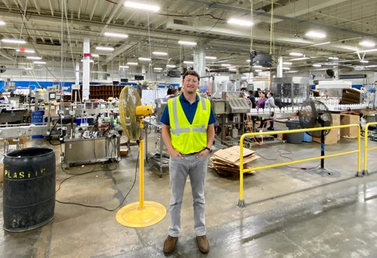 Henderson native Will Fidler is the president and co-owner of RGA Enterprises, a Charlotte-based company that manufactures cleaning products and uses a deep-cleaning technology that keeps essential facilities open during the coronavirus pandemic.