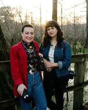 Olivia Perillo, right, a Lafayette-based visual artist, photographerand filmmaker, released new film, Intention, in February with her creative partner Syd Horn. The film captures Cajun culture for women and art.