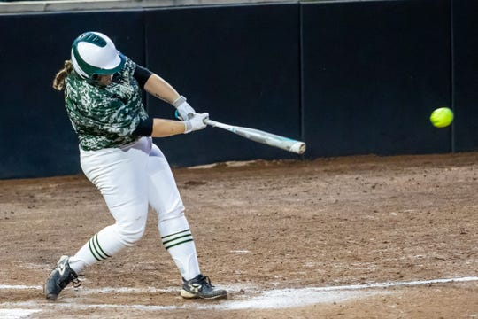 Howell's Avrey Wolverton has 24 homers and 119 RBI in her first two seasons.