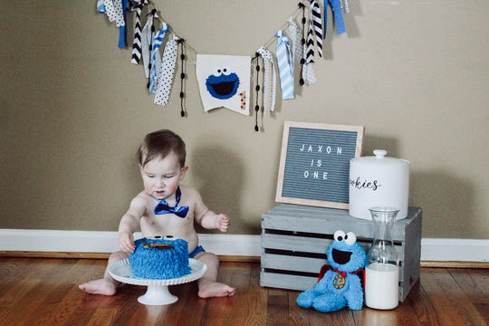 Reaching his first birthday was a milestone for Jaxon Milburn, who was born with CDH (Congenital Diaphragmatic Hernia).